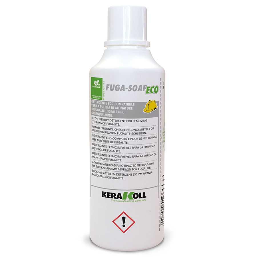 Kerakoll Fuga-Soap Eco 1 LT Detergente pavimenti post posa del Fugalite