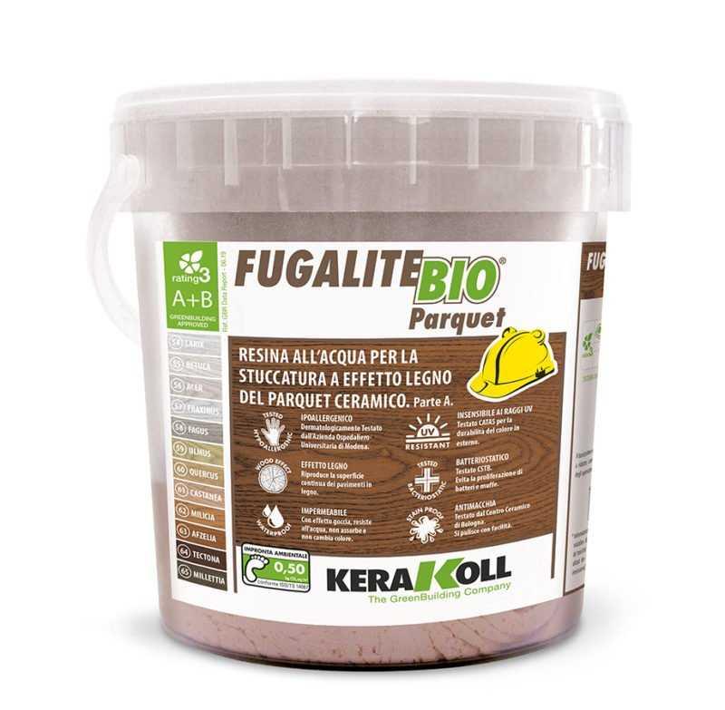 Kerakoll Fugalite Bio Parquet Tectona 64 3Kg stucco in pasta