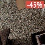 Pavimento gres porcellanato Le Veneziane di Cerim 80x80 6 mm Dorsoduro Naturale