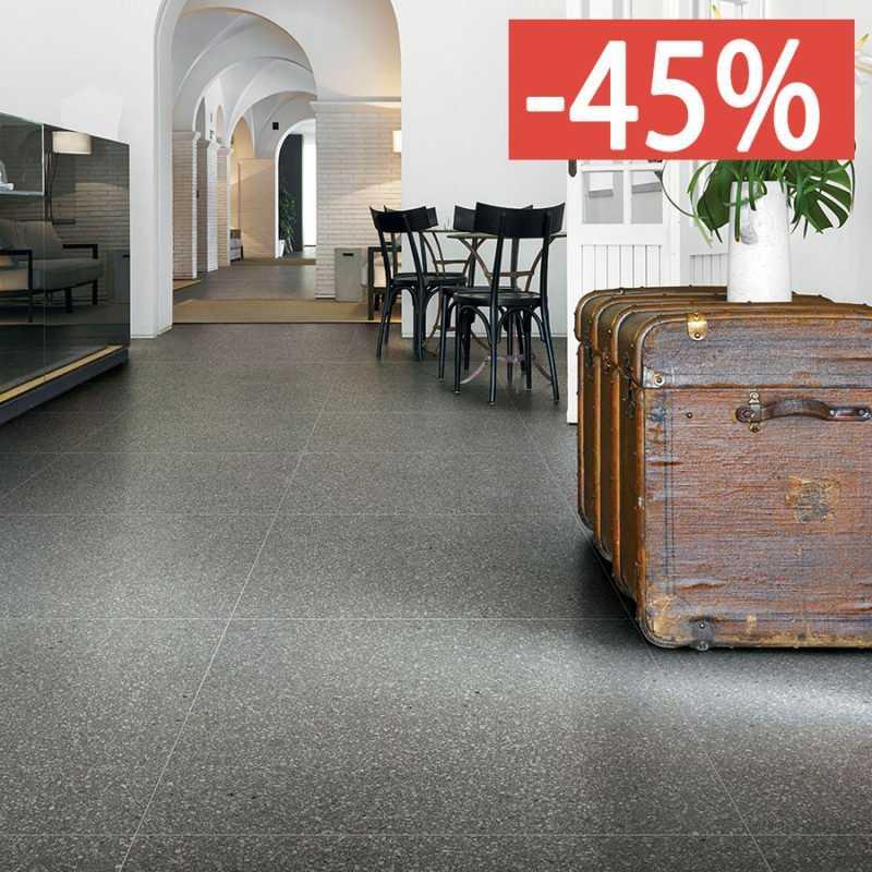 Pavimento gres porcellanato Le Veneziane di Cerim 80x80 6 mm Santa Croce Naturale 1