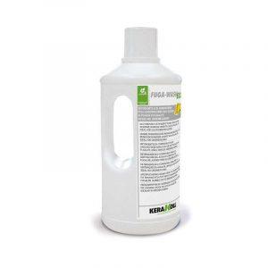 Kerakoll Fuga Wash Eco 1,5 Lt Detergente durante la posa del Fugalite
