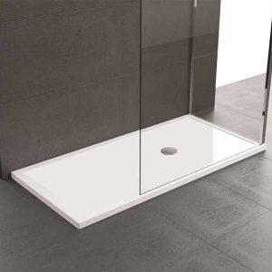 Piatto Doccia 140x80 Novellini Olympic Plus bianco lucido acrilico
