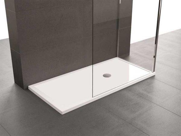 Piatto Doccia 170×70 Novellini Olympic Plus bianco lucido acrilico .