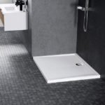 Piatto doccia acrilico Novellini Olympic 80×80 bianco lucido