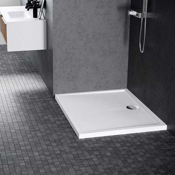 Piatto doccia acrilico Novellini Olympic 80x80 bianco lucido