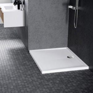 Piatto doccia acrilico Novellini Olympic 90x75 bianco lucido