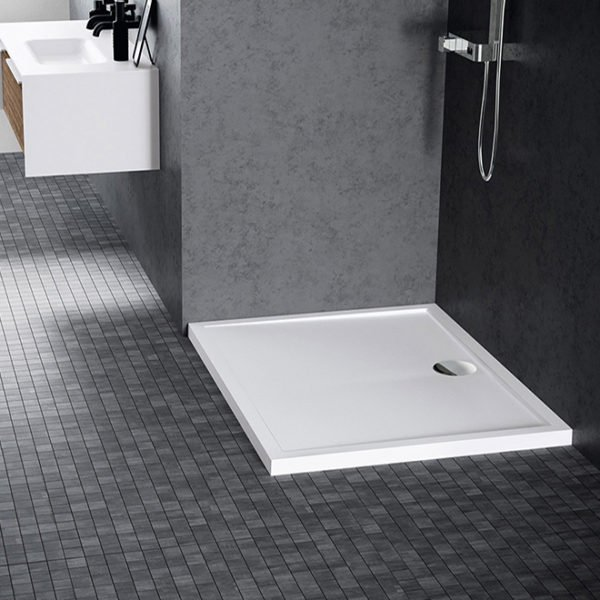 Piatto doccia acrilico Novellini Olympic 90×75 bianco lucido