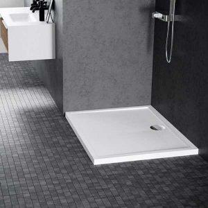 Piatto doccia acrilico Novellini Olympic 90x90 bianco lucido