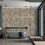 Dado-Ceramica-Wallpapers-Bronze-Fern-60×120-ambiente