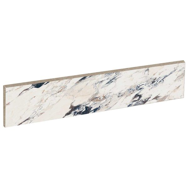 Battiscopa ABK Sensi Up 5,5×120 rett. Breccia Melange
