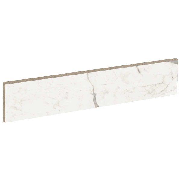 Battiscopa ABK Sensi Up 5,5×120 rett. Statuario Versilia