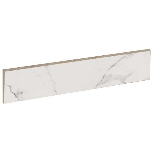 Battiscopa ABK Sensi 5,5×60 Statuario White
