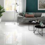 Cotto d'Este Kerlite Black-White Ultrawhite glossy