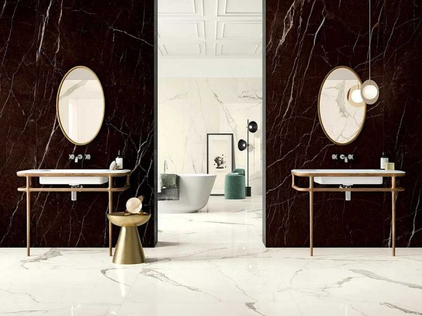 Cotto d'Este Kerlite Vanity Bianco Statuario glossy_1