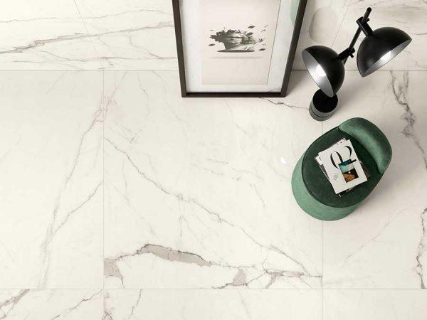 Cotto d'Este Kerlite Vanity Bianco Statuario glossy_2