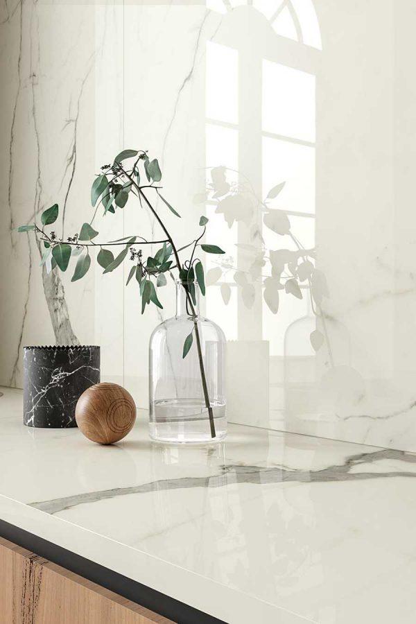 Cotto d'Este Kerlite Vanity Bianco Statuario glossy_3