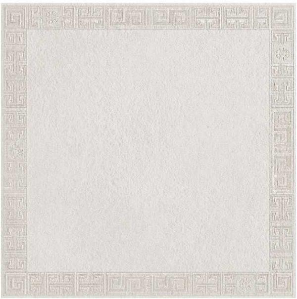 Versace Ceramics #Greek 40×40 Cassettone Bianco