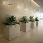 Versace Ceramics #Greek 80×80 Beige interno_3