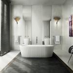 Versace Ceramics #Greek 80×80 Bianco interno_2