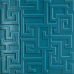 Versace Ceramics #Greek Rivestimento 3D 40×40 Ottanio
