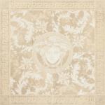 Versace ceramics 117,2×117,2 Rosone levigato beige