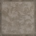 Versace ceramics 58,5×58,5 Decoro cassettone foglia grigio