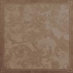 Versace ceramics 58,5×58,5 Decoro cassettone foglia marrone