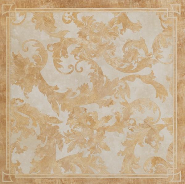 Versace ceramics 58,5×58,5 Decoro cassettone foglia oro