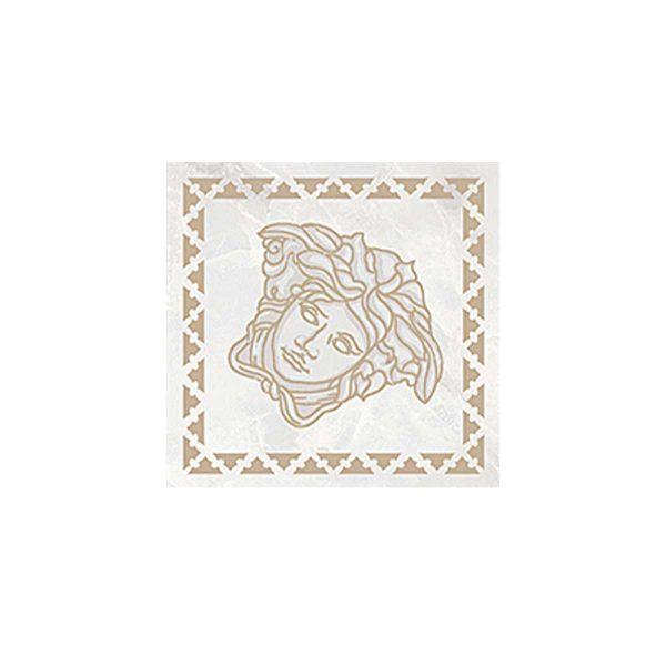 Versace ceramics Emote 10×10 Tozzetto bianco