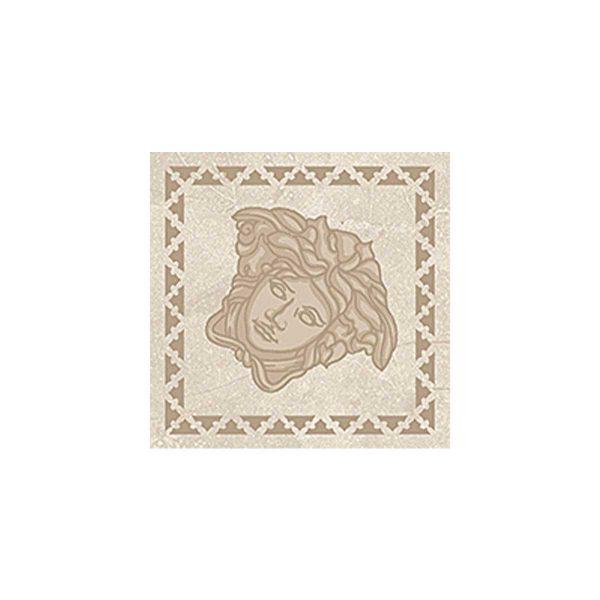 Versace ceramics Emote 10×10 Tozzetto crema