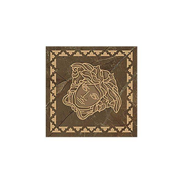 Versace ceramics Emote 10×10 Tozzetto marrone