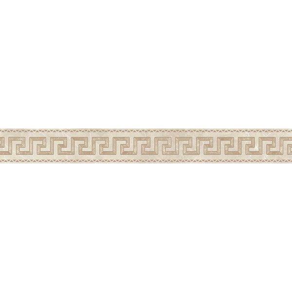 Versace ceramics Emote 10×78 Fascia crema marfil