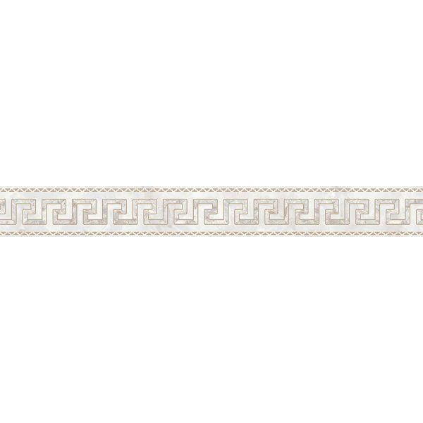 Versace ceramics Emote 10×78 Fascia onice bianco
