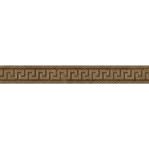 Versace ceramics Emote 10×78 Fascia pulpis marrone