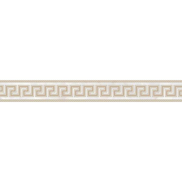 Versace ceramics Emote 10×78 Fascia sabbiata bianco