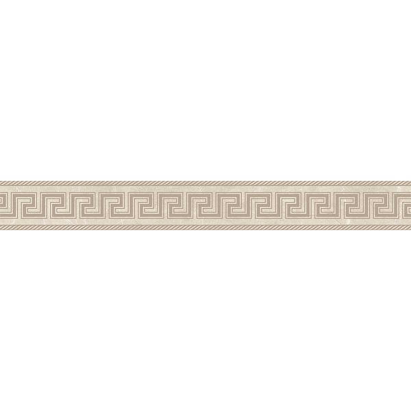 Versace ceramics Emote 10×78 Fascia sabbiata crema