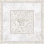 Versace ceramics Emote 156×156 Rosone onice bianco