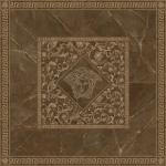 Versace ceramics Emote 156×156 Rosone pulpis marrone