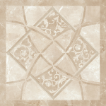 Versace ceramics Emote 78×78 Crema marfil intarsio