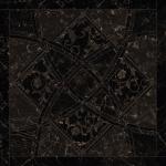 Versace ceramics Emote 78×78 Nero amasanta intarsio