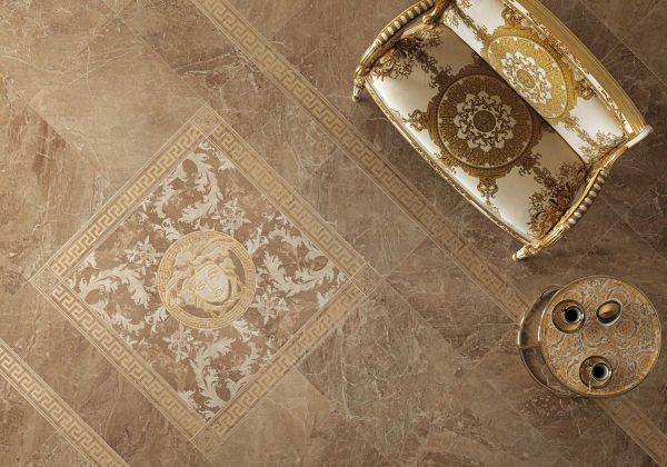 Versace ceramics Marble Marrone interno_1