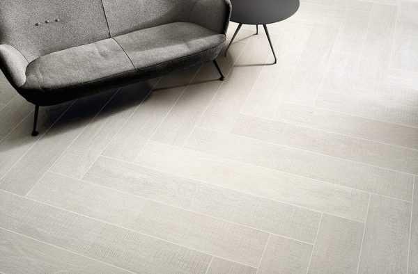 Ceramica Fioranese Dekap 20,13×120,8 Solid White interno
