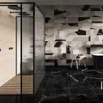 Ceramica Fioranese Sound of Marbles Nero fondo interno