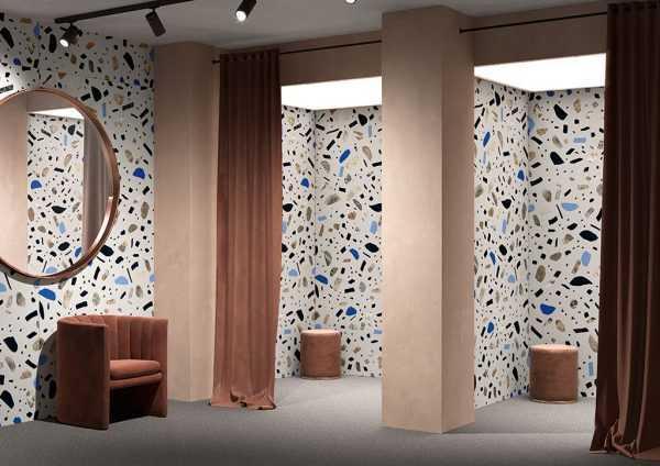 Ceramica Fioranese Fio.Ghiaia Slabs 120×260 Maxi Grigio interno