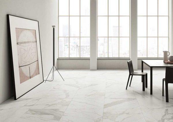 Ceramica Fioranese Marmorea Bianco Calacatta effect interno_1