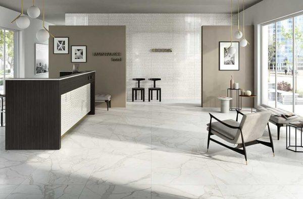Ceramica Fioranese Marmorea Bianco Statuario effect interno_1